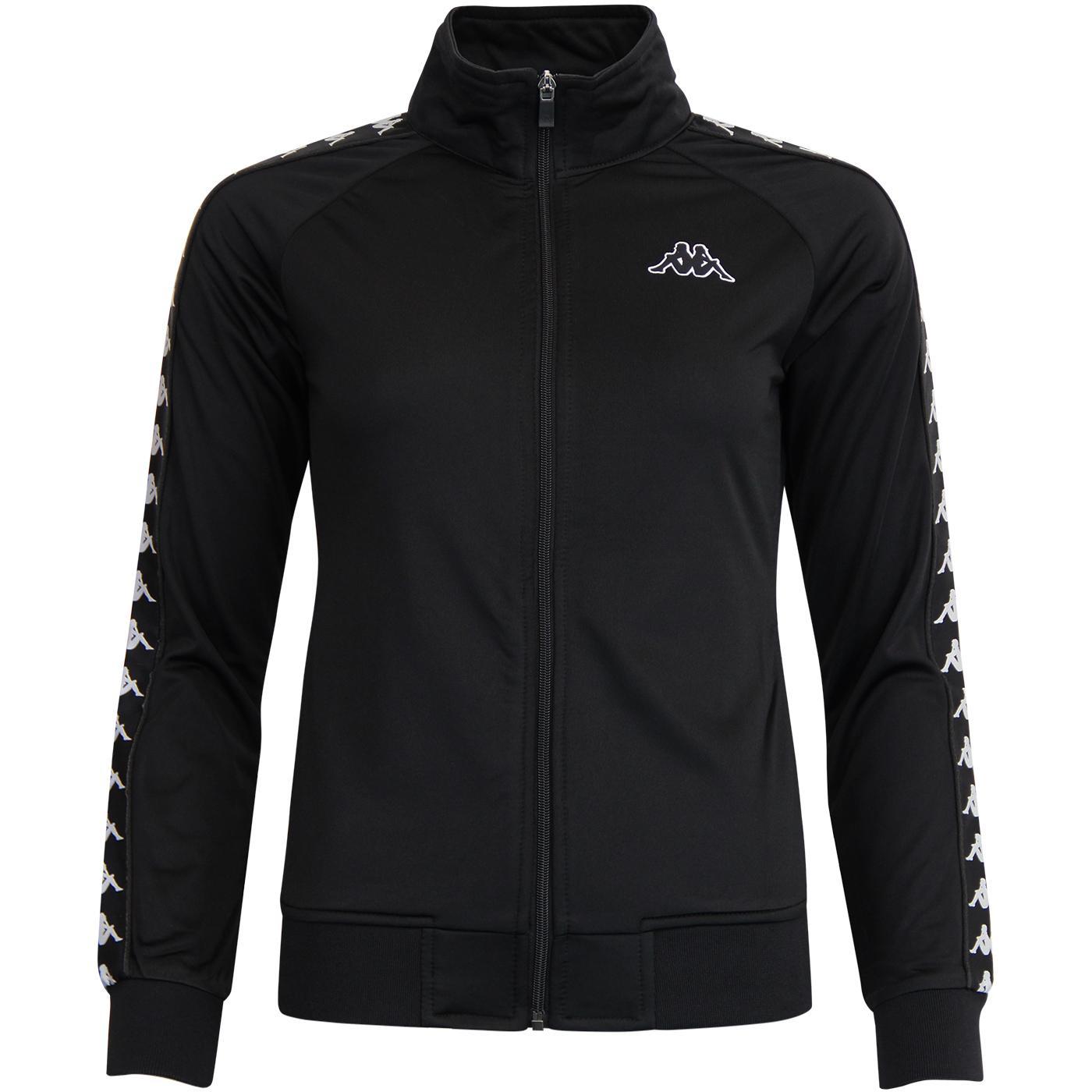 Wanniston KAPPA Banda Women's Track Jacket (Black)