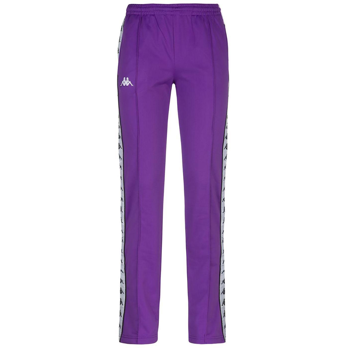 Wastoria Snaps KAPPA Women's slim Track Pants (V)