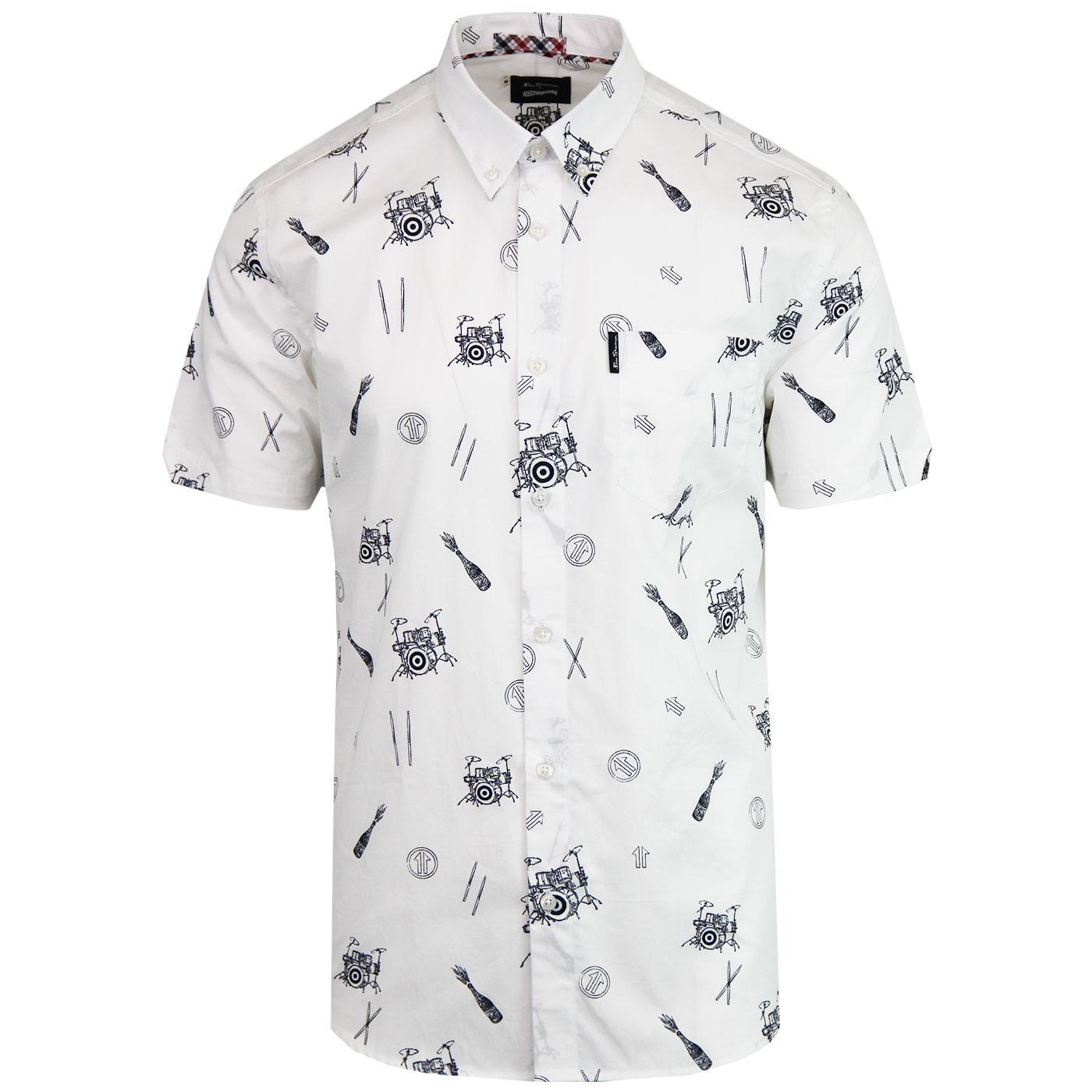 BEN SHERMAN x KEITH MOON Ltd Ed Mod Icon Shirt