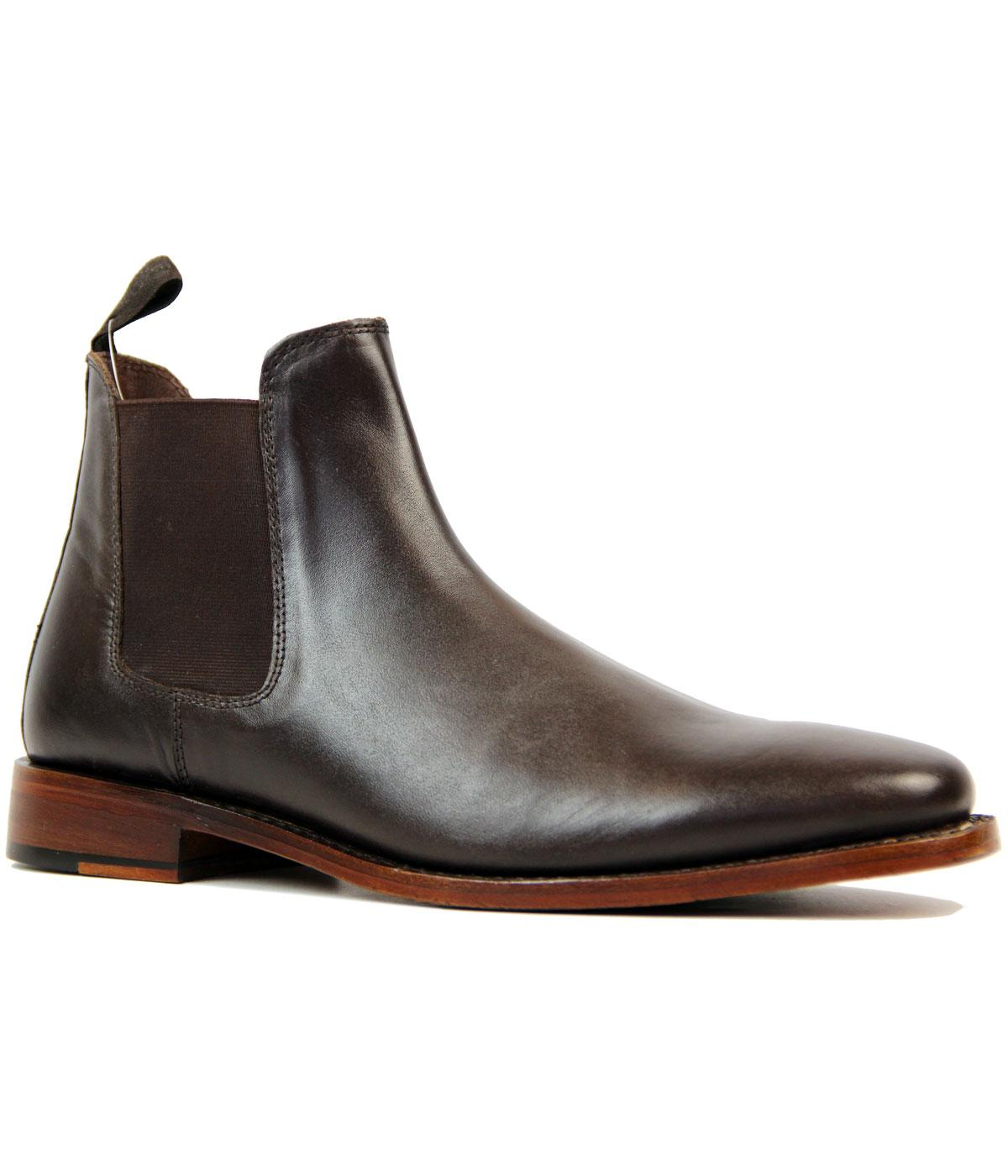 KENSINGTON 60s Mod Goodyear Welted Chelsea Boots