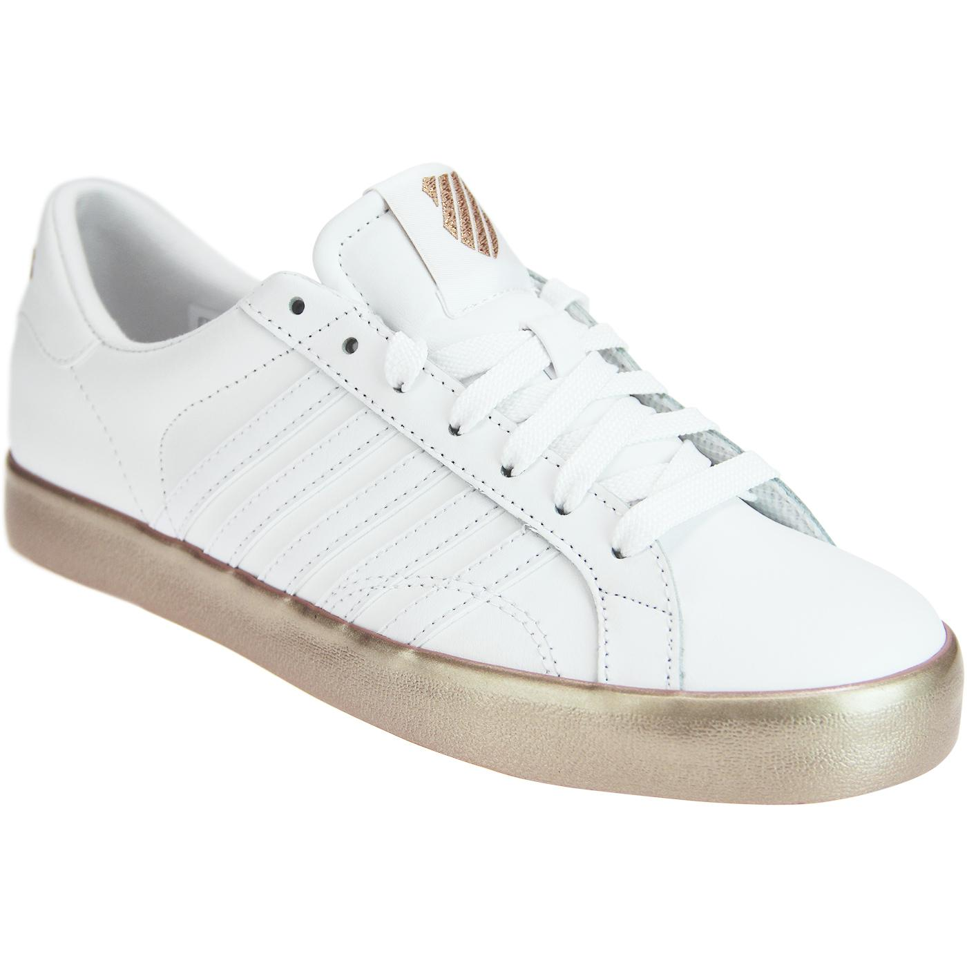 Belmont SO K-SWISS Tennis Trainers WHITE/ROSE GOLD