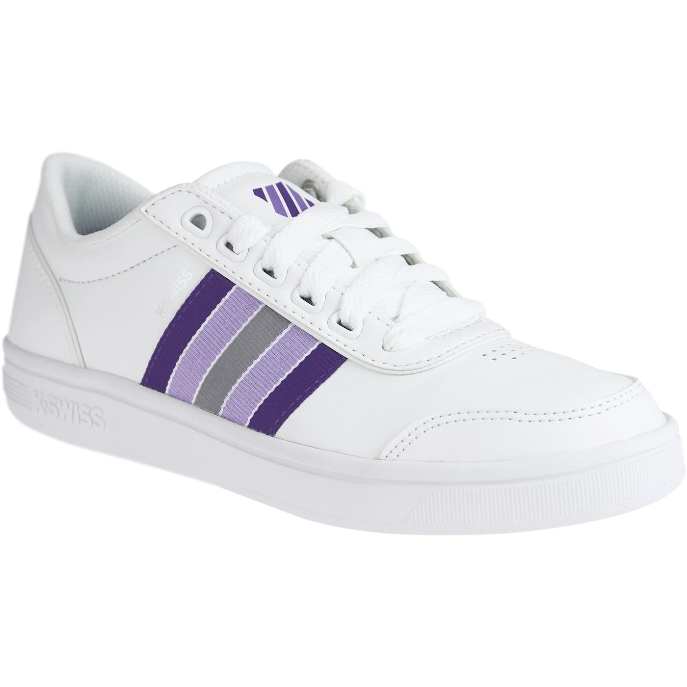 K-SWISS Court Clarkson Women's Retro Trainers W/UV
