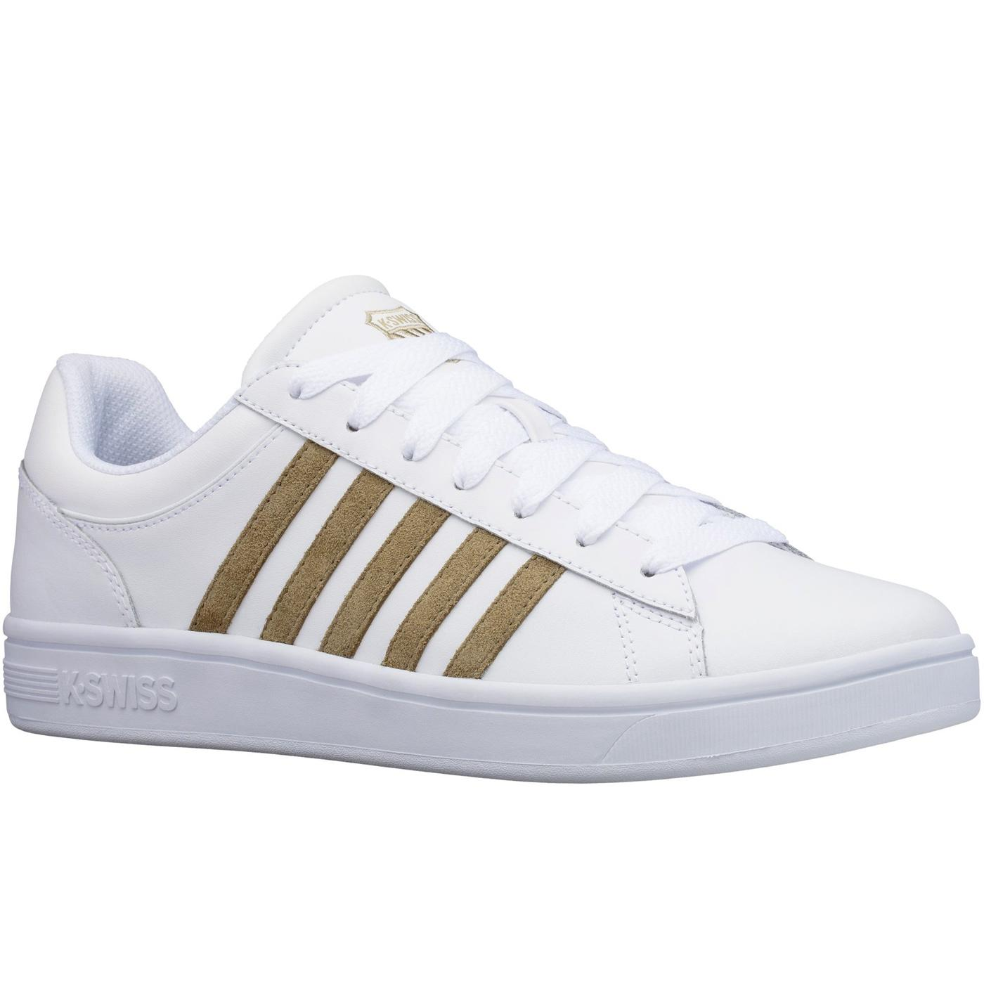 Court Winston K-SWISS Men's Retro Trainers (W/OD
