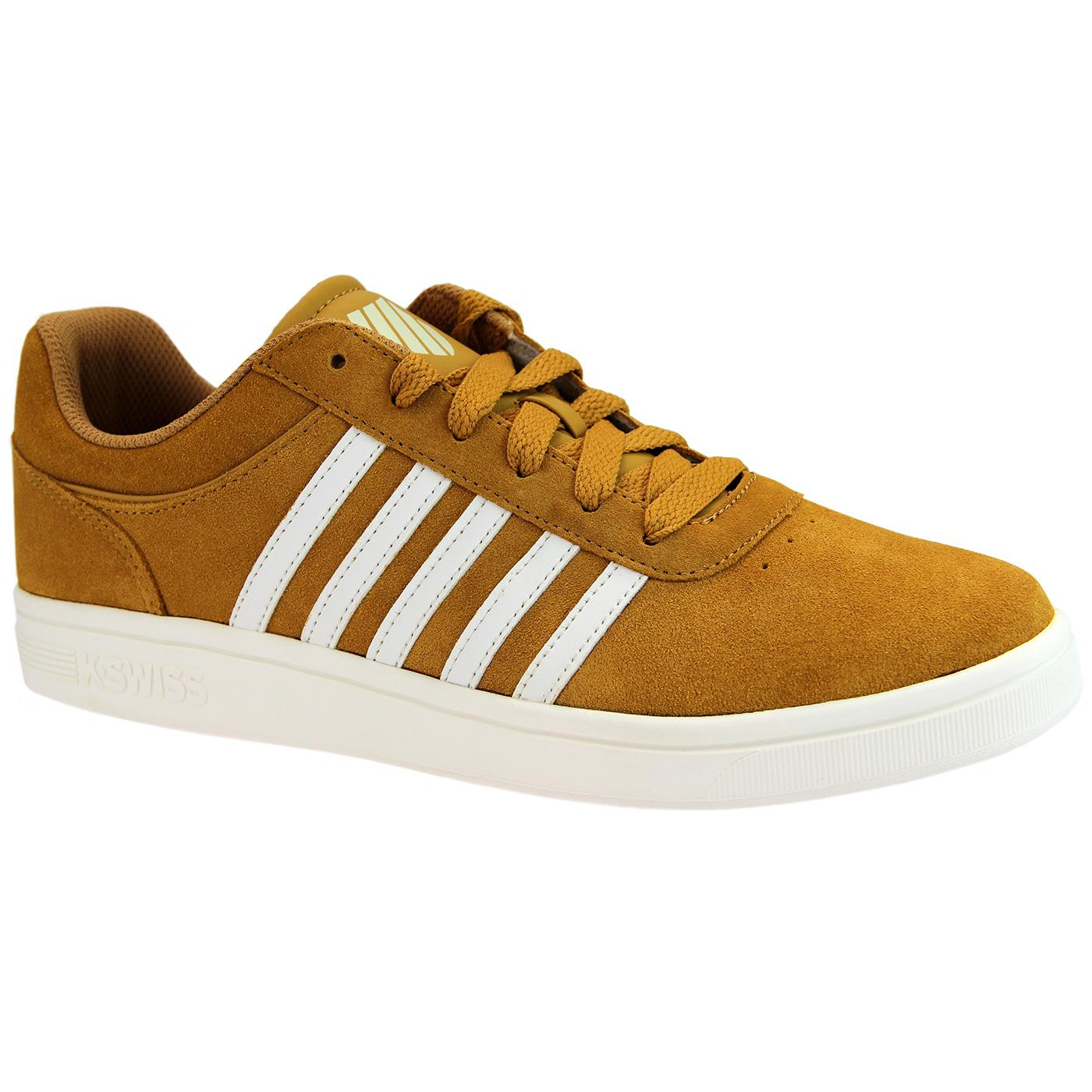 Court Cheswick K-SWISS Suede 70s Tennis Trainers A
