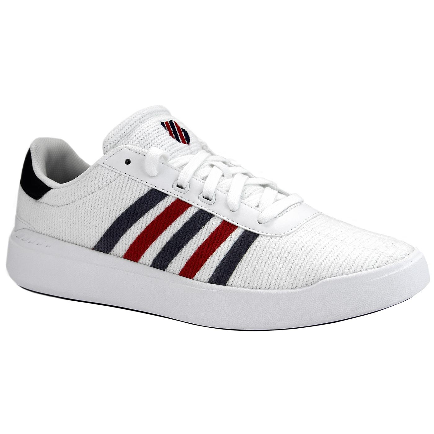 Heritage Light K-SWISS Retro Knitted Trainers W