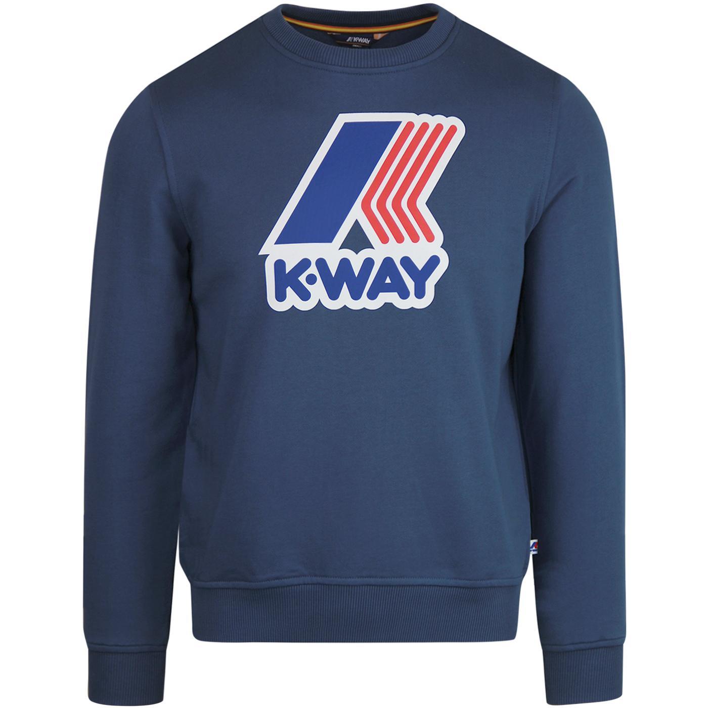 Augustine K-WAY Macro Logo Retro Sweatshirt (BO)