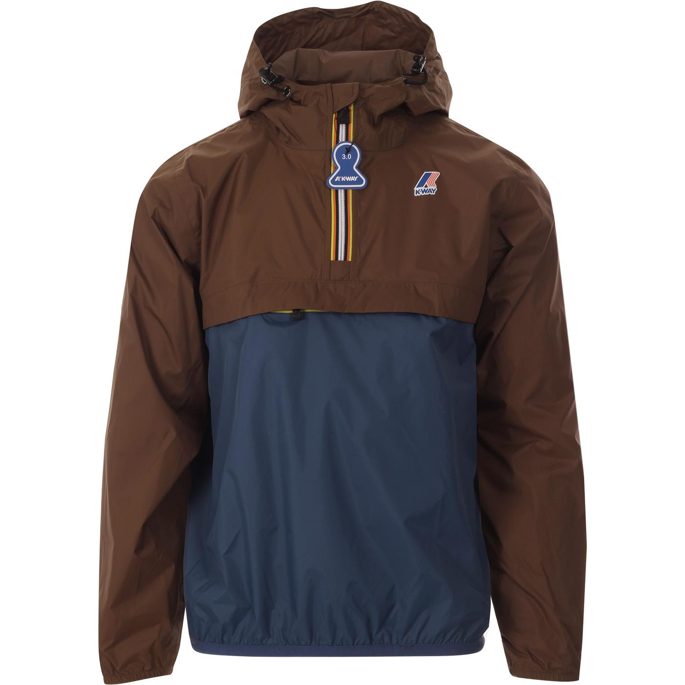 Leon Bicolor K-WAY Retro Pack-A-Mac Cagoule (BC)