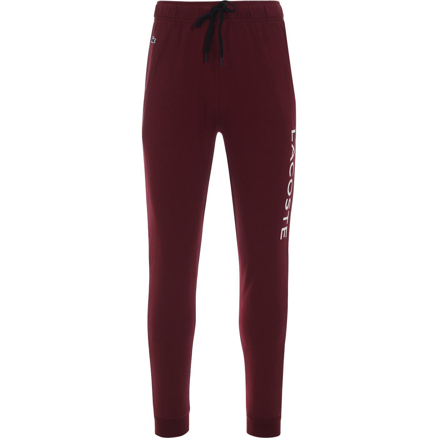LACOSTE Retro Loungewear Logo Pants DR