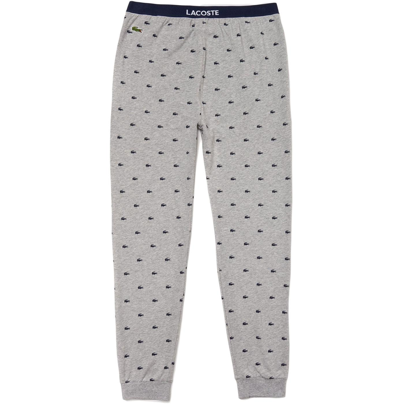 LACOSTE Retro Plush Jogger Pyjama Lounge Pants G