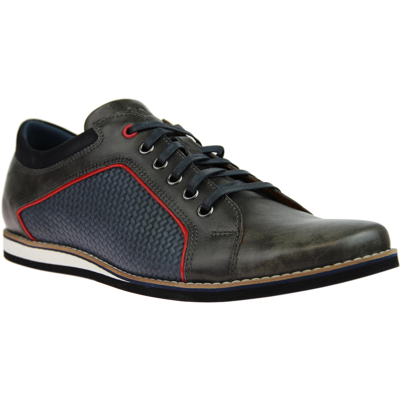 LACUZZO Retro Weave Northern Soul Trainer Shoes G