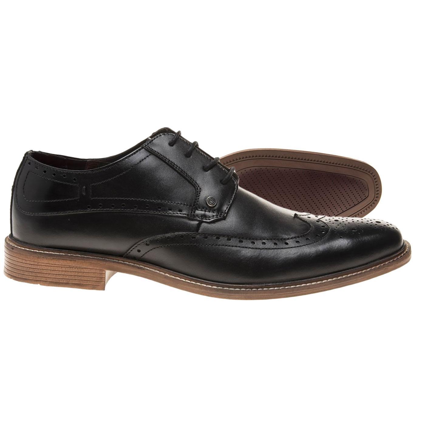 1960s Mod Derby Brogue Shoes