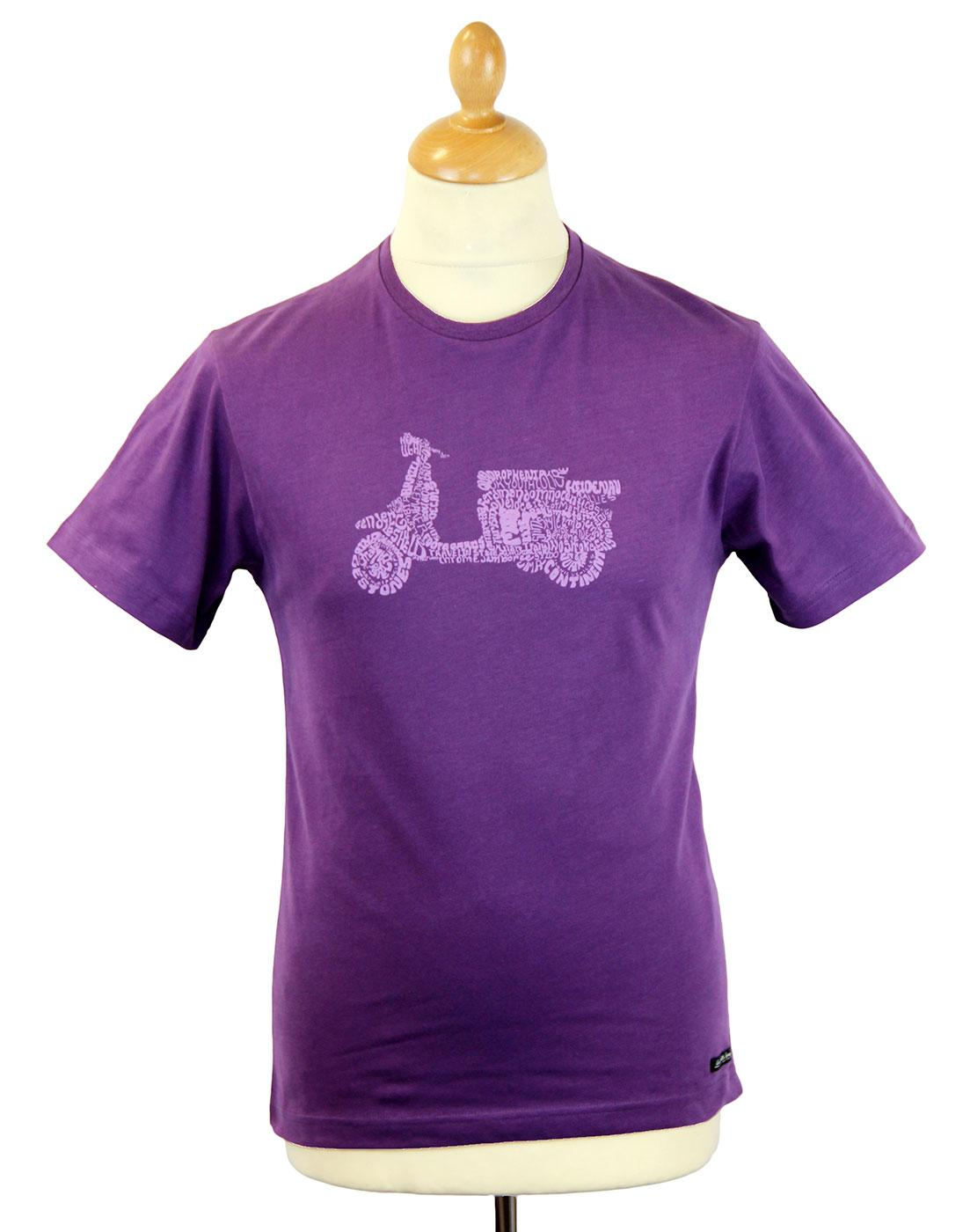 LAMBRETTA Joni James Word Art Mod Scooter Tee (P)