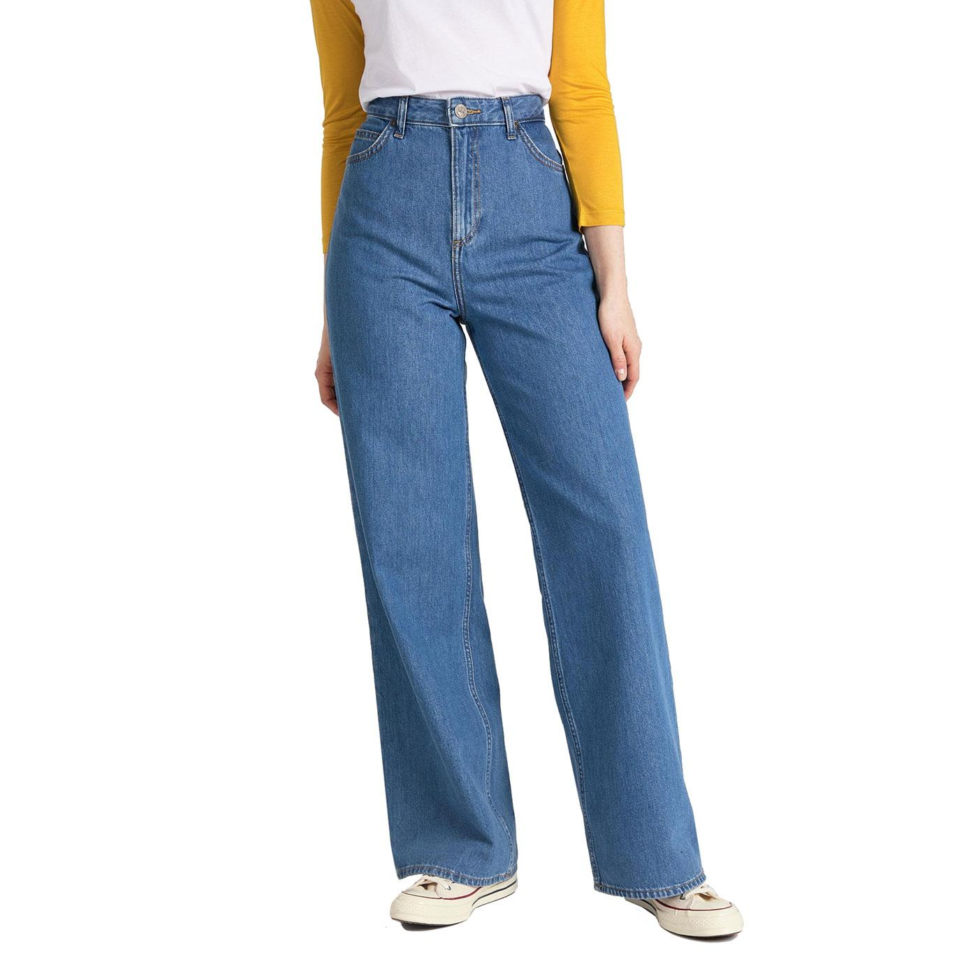 LEE JEANS Women's Retro A-line High Waisted Flares