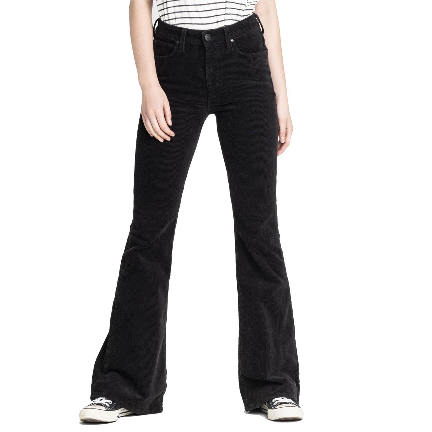 Breese LEE JEANS Retro High Rise Flare Cord Jeans
