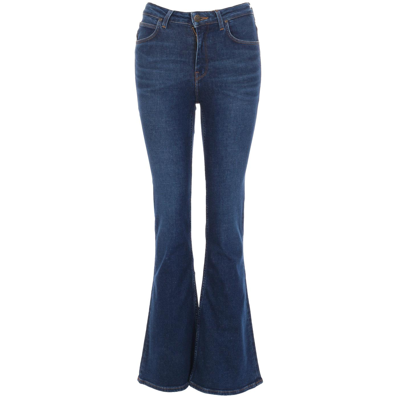 Breese LEE JEANS Retro High Rise Flare Jeans DF