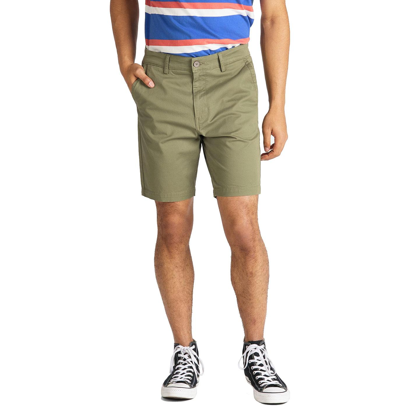 LEE JEANS Mens Slim Fit Cotton Twill Chino Shorts