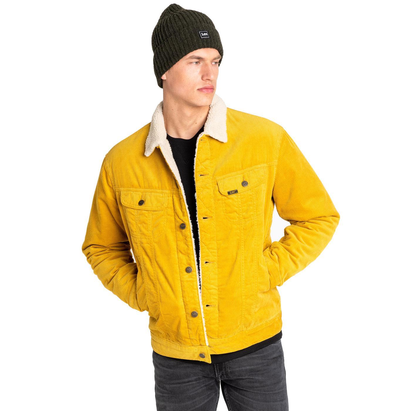 Rider Sherpa LEE JEANS Retro Cord Jacket NG