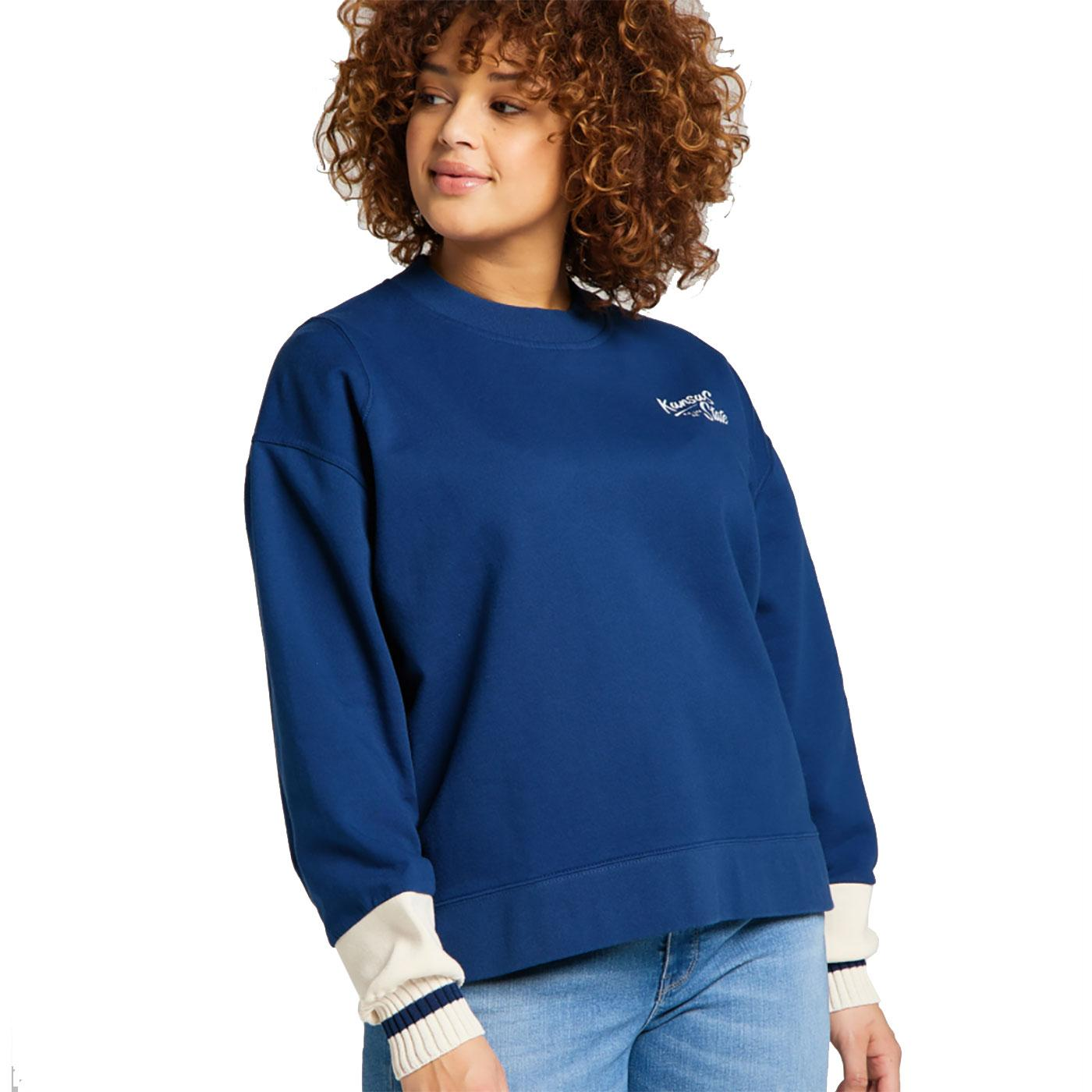 LEE JEANS Womens Cut & Sew Raglan Sweatshirt WB