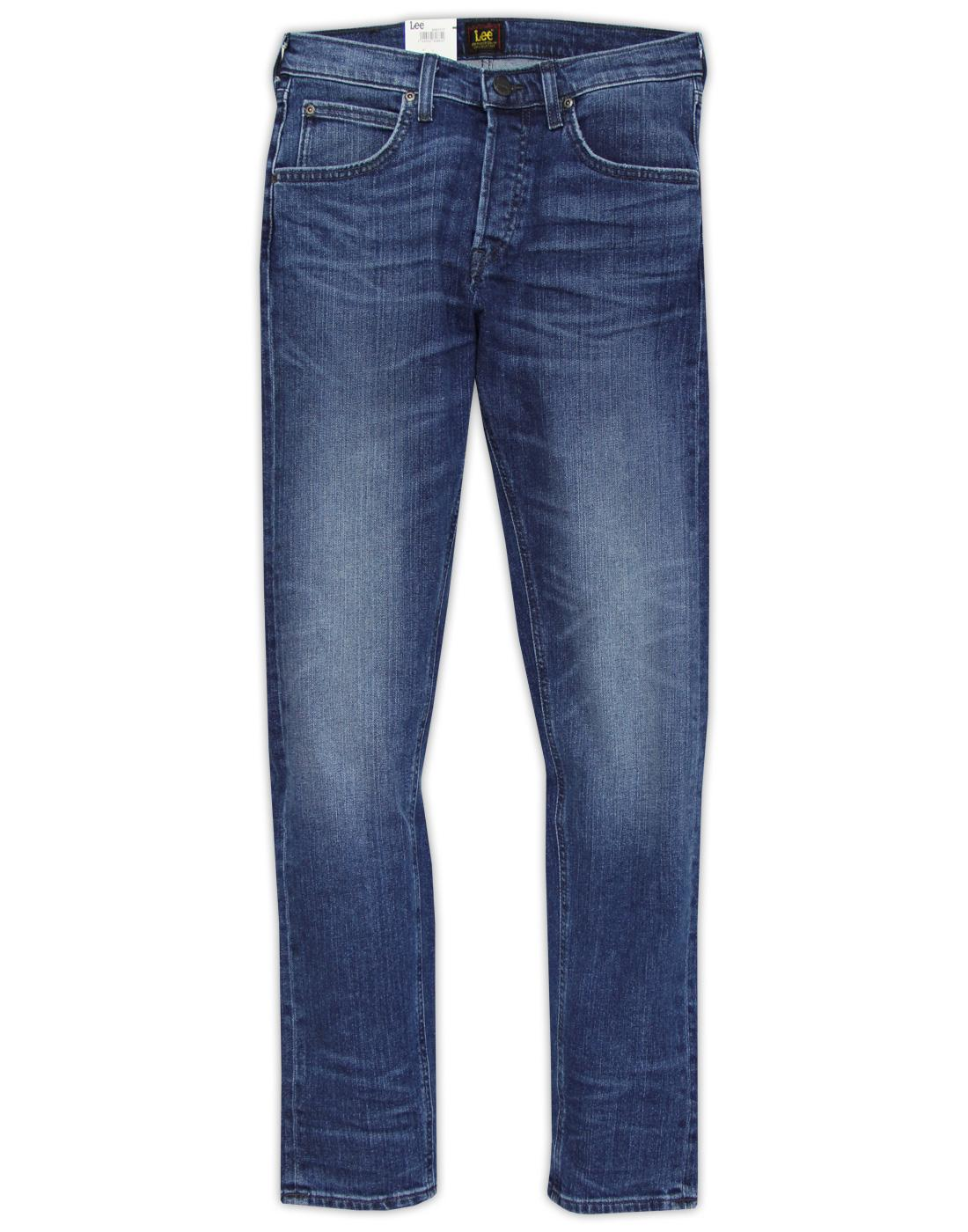 Daren LEE Regular Slim Banshee Worn Denim Jeans