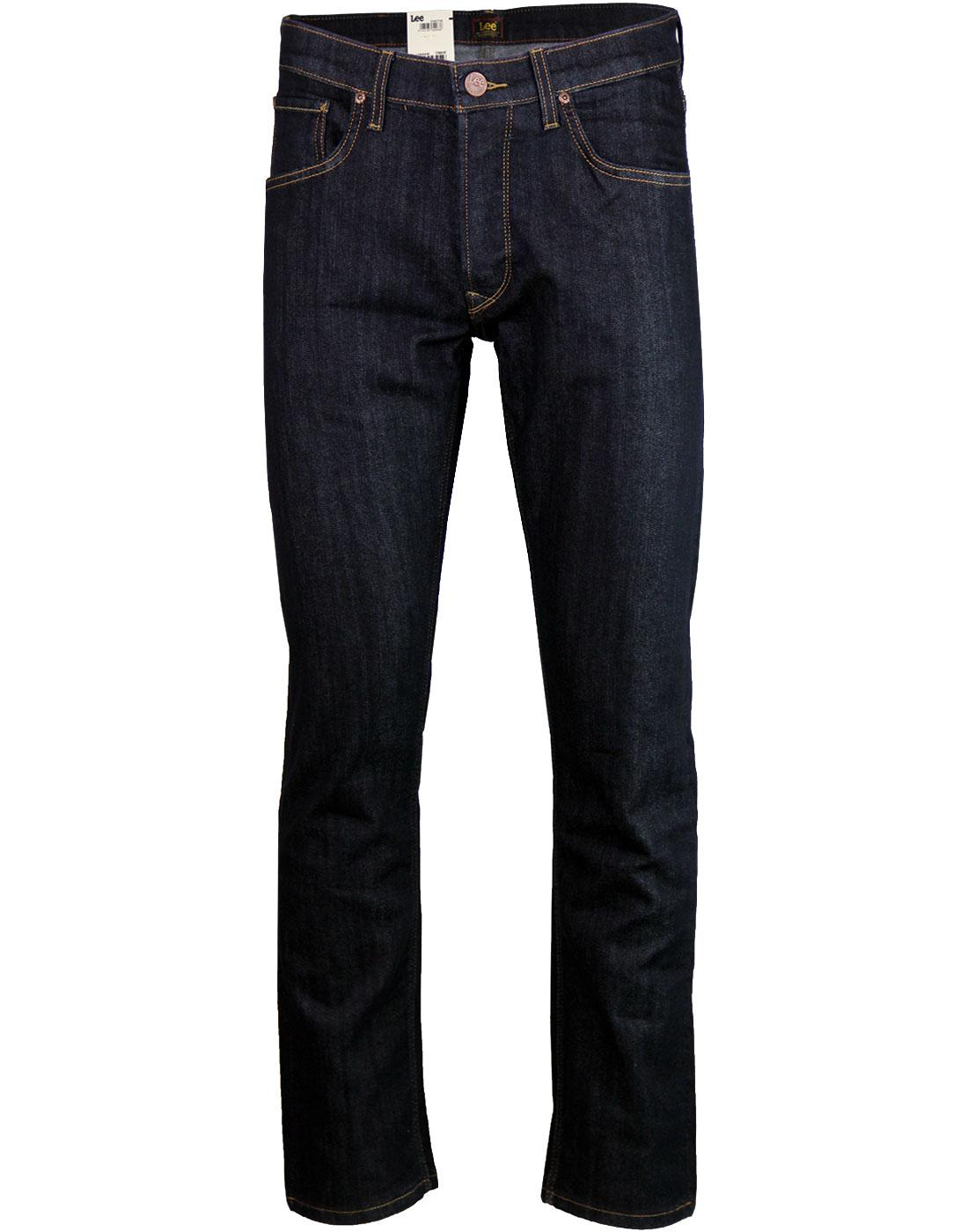 Daren LEE Jeans Retro Regular Slim Denim Jeans R