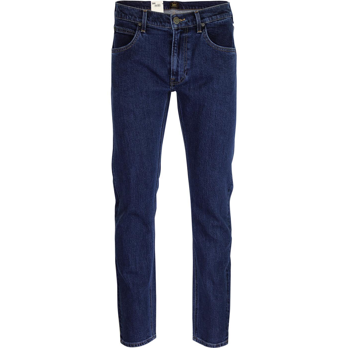 Daren LEE Regular Slim Mod Denim Jeans DARK STONE