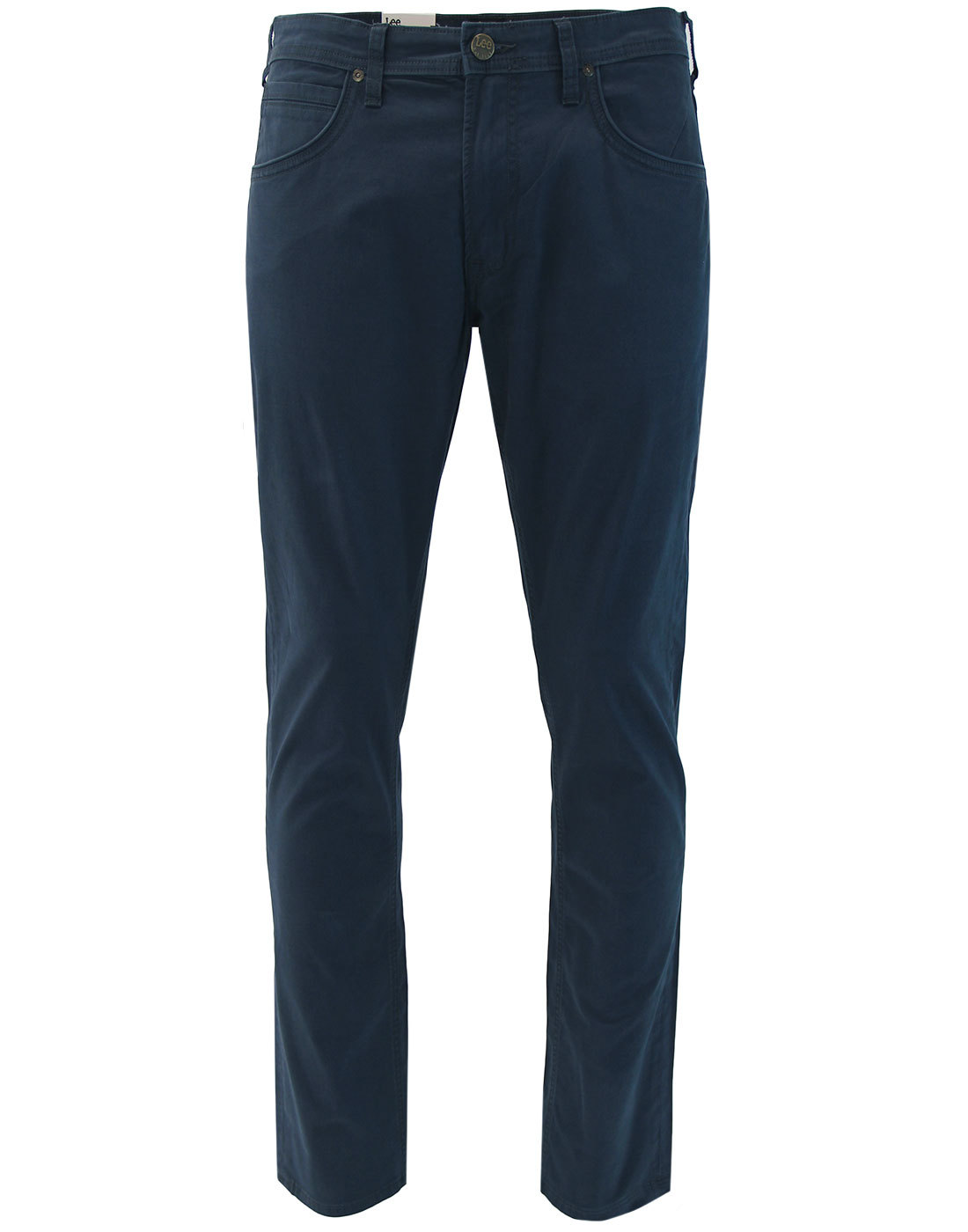 Daren LEE Retro Mod Slim Stretch Twill Chinos NAVY