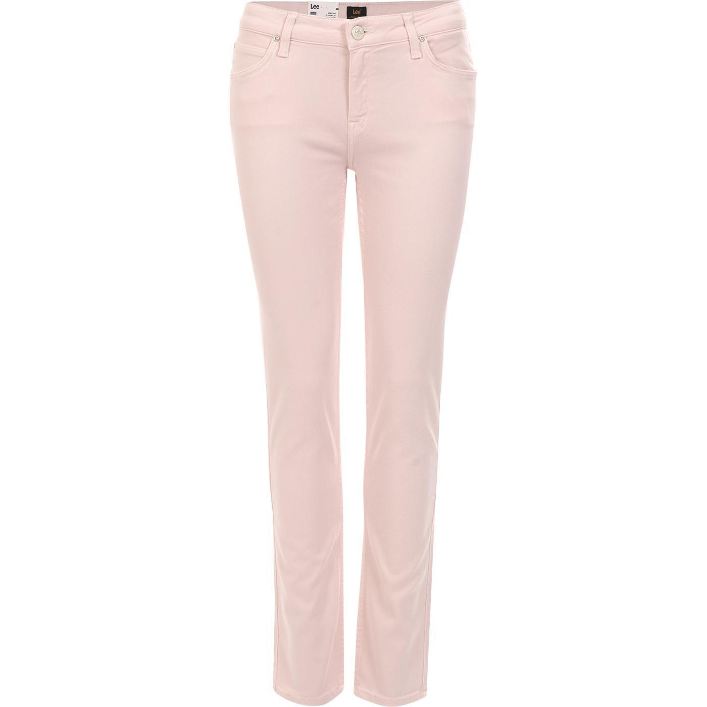 Elly LEE JEANS Slim Leg Pastel Jeans PINK