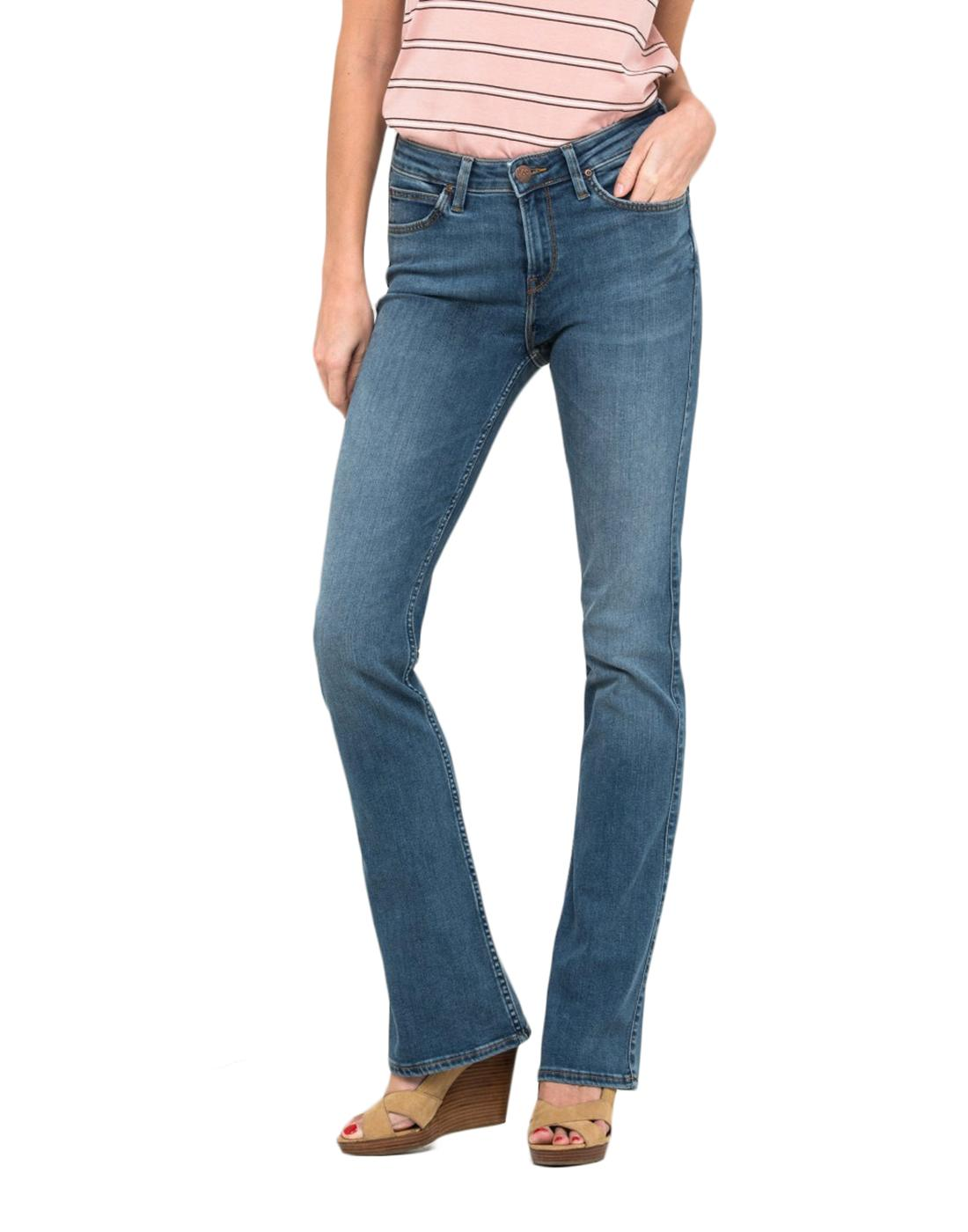 Hoxie LEE JEANS Womens Retro 70s Bootcut Jeans