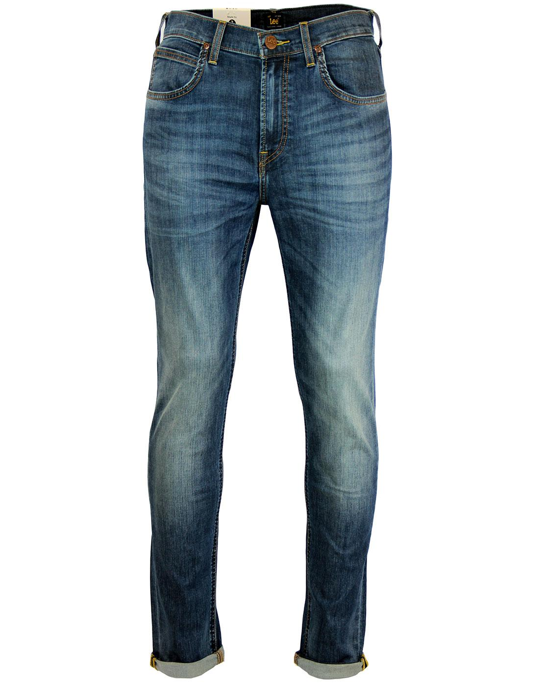 Arvin LEE Retro Blue Rhythm Regular Tapered Jeans