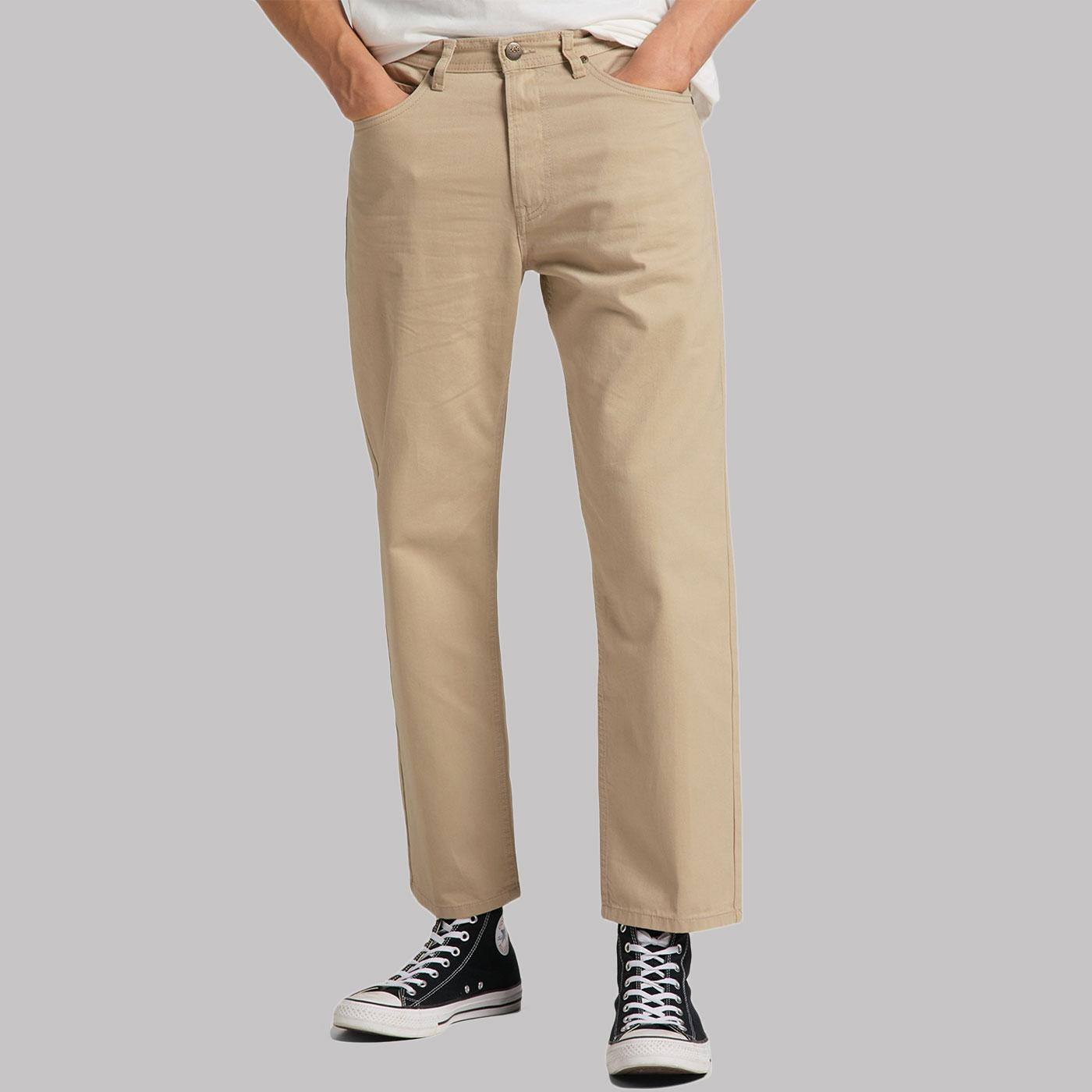 Eden LEE JEANS Men's Retro Cropped Chinos (SS)