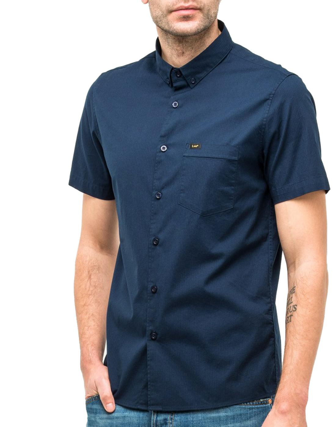 LEE JEANS Men's Mod Slim Smart Button Down Shirt
