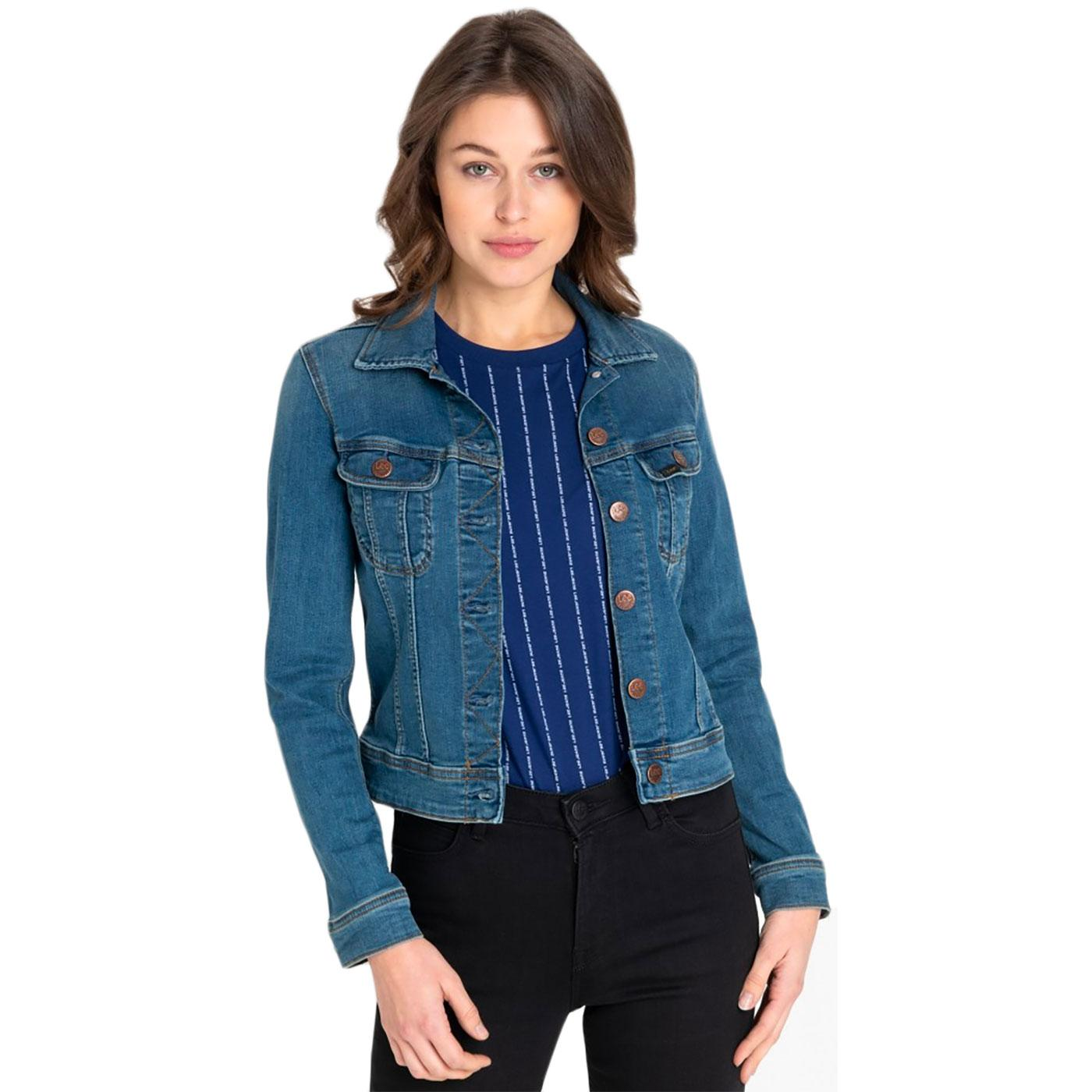 very womens denim jacket