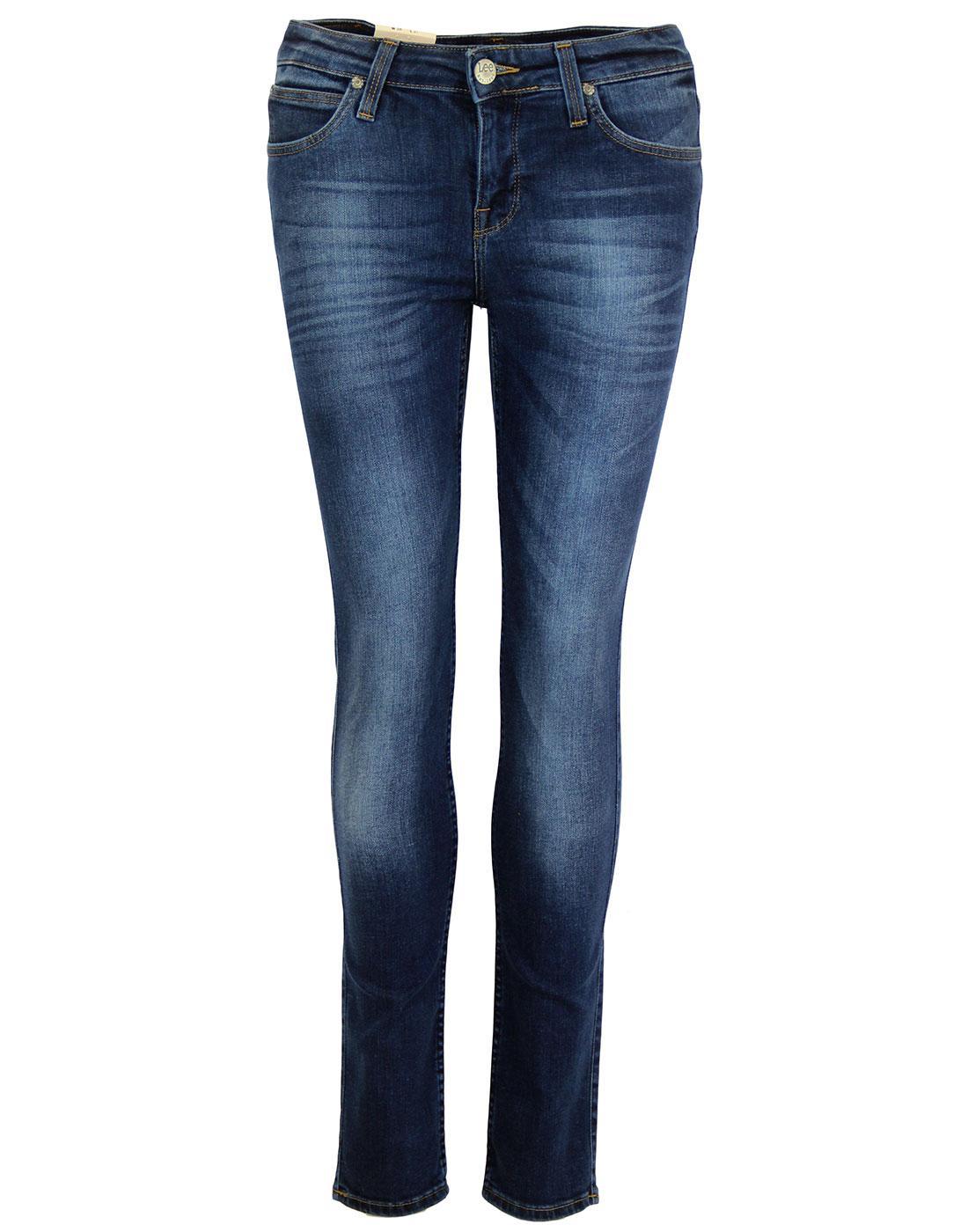 Scarlett LEE Retro Night Sky Skinny Denim Jeans