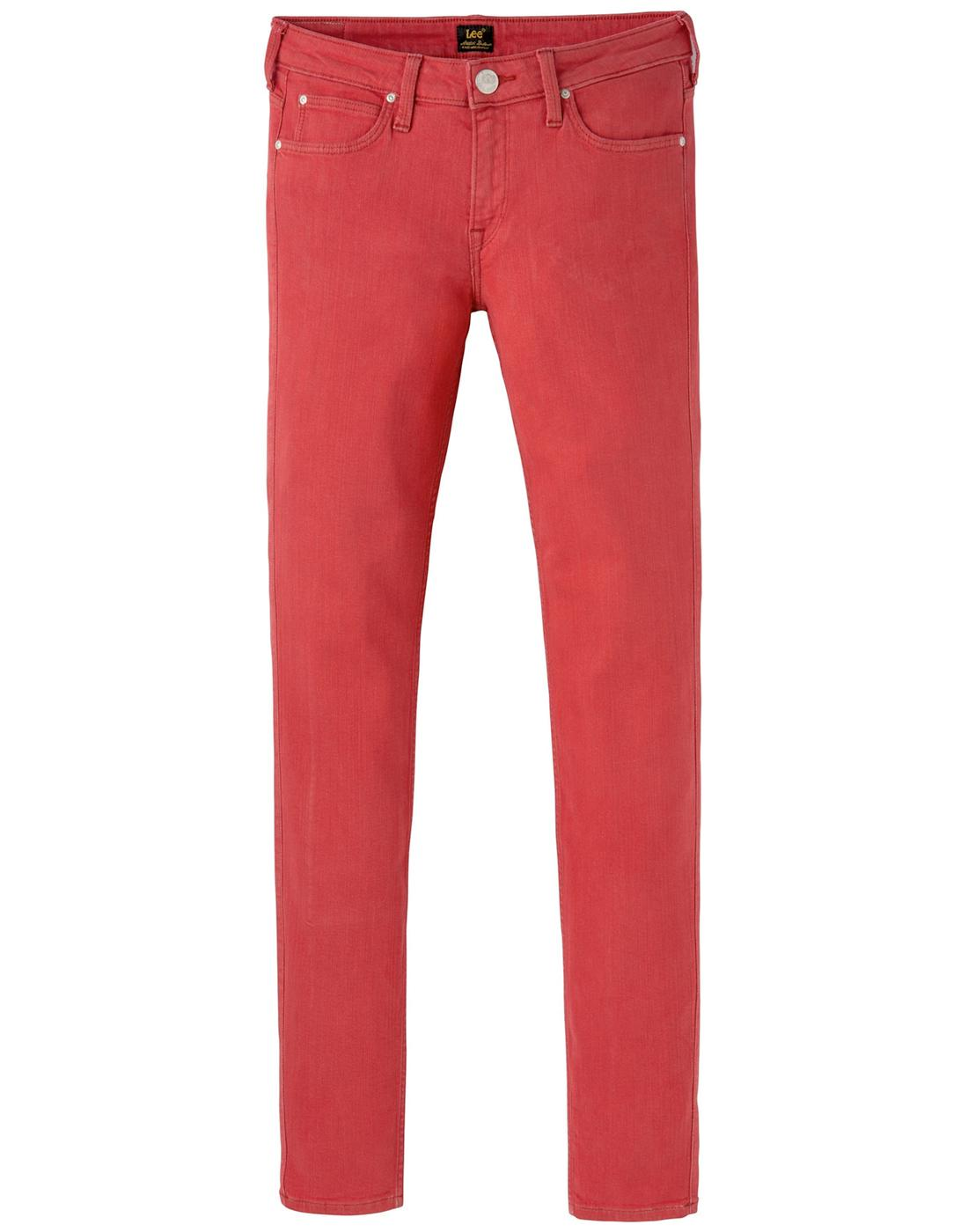 Scarlett LEE JEANS Womens Skinny Jeans in Pop Red
