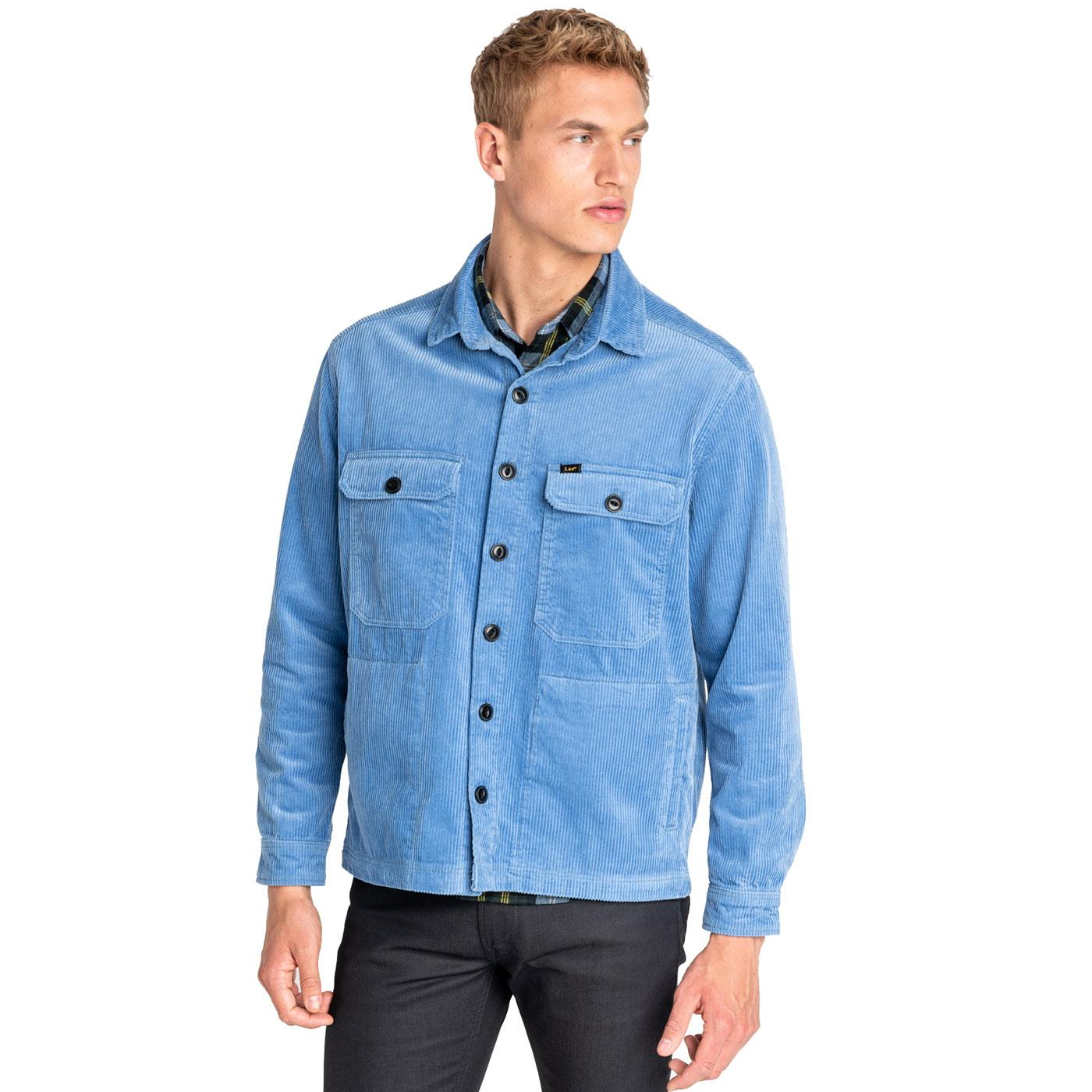 LEE JEANS Seventies Retro Jumbo Cord Overshirt FB