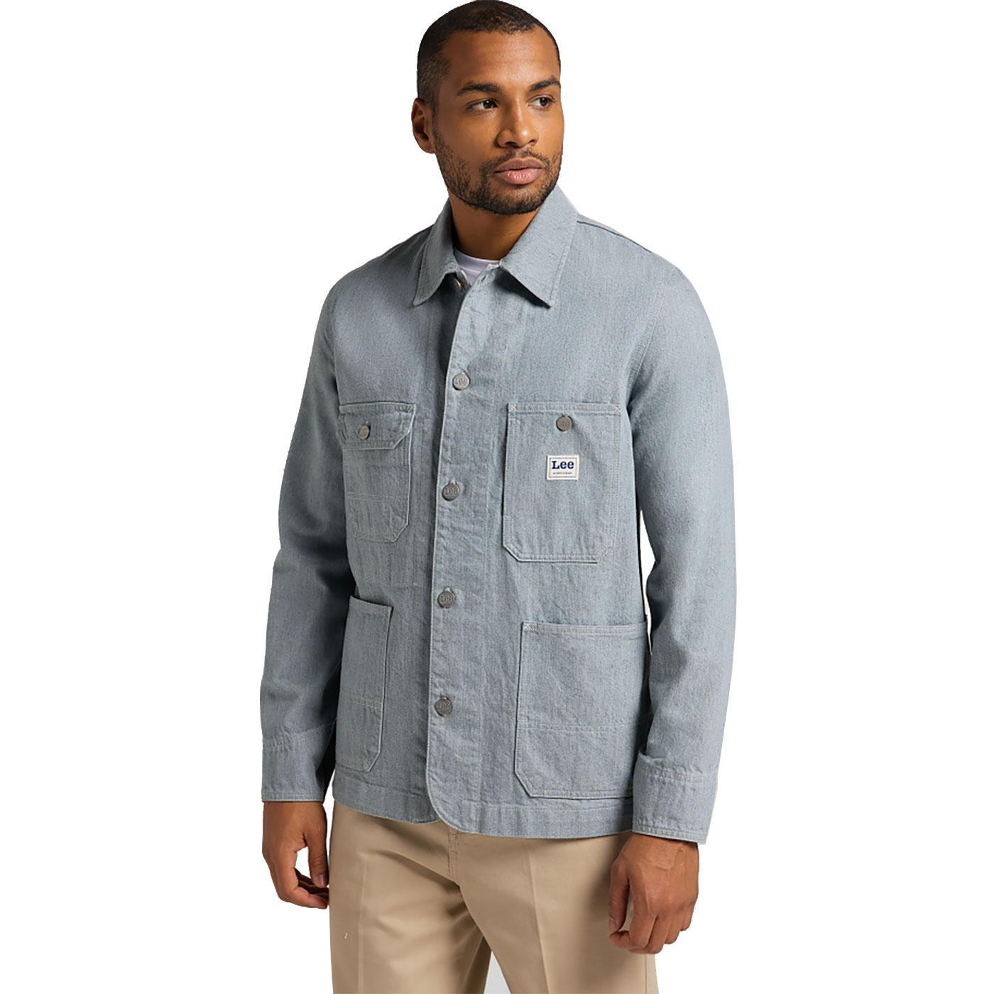 Loco LEE JEANS Box Pocket Denim Workwear Jacket