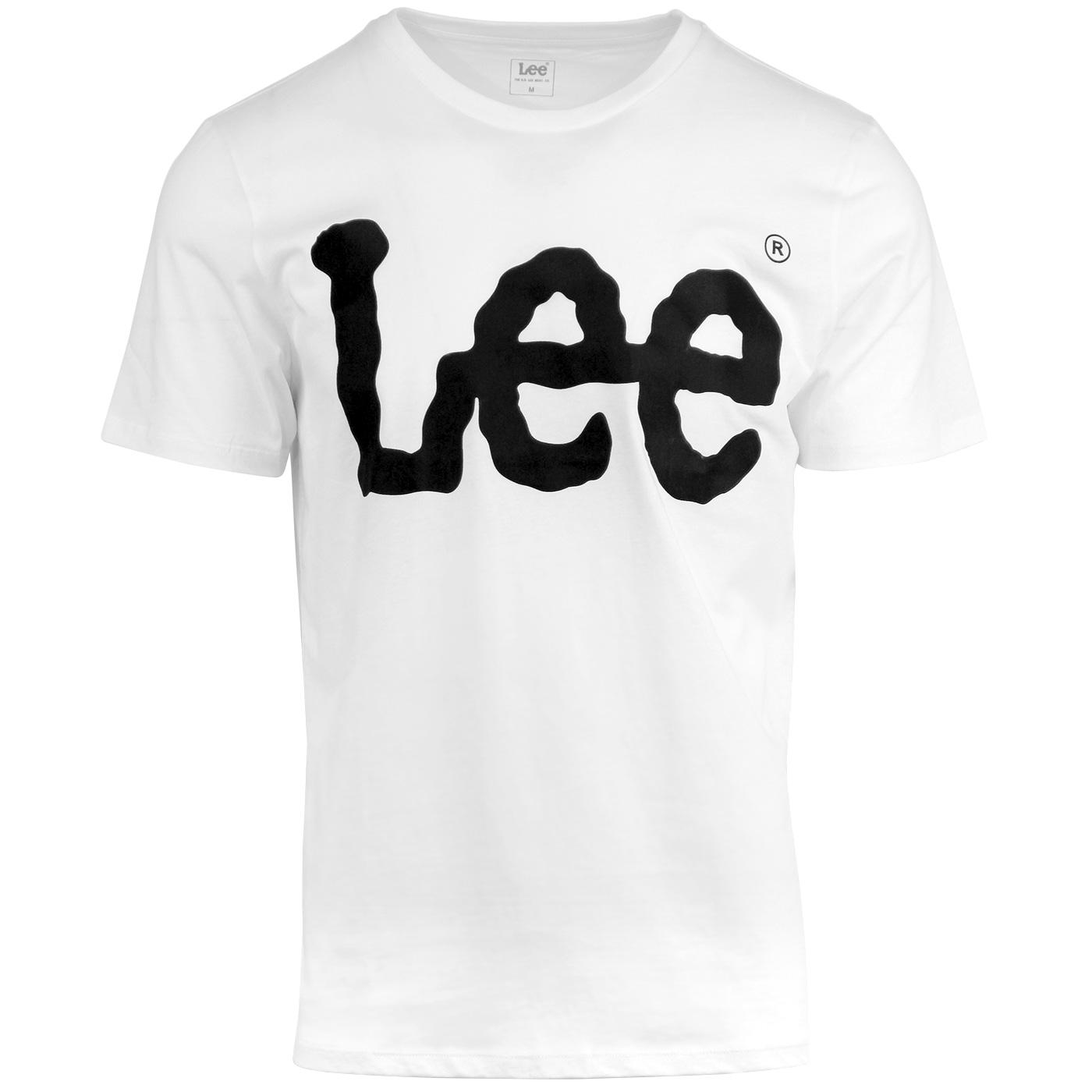 LEE Retro 90s Oversized 'Wobbly Lee' Logo T-shirt