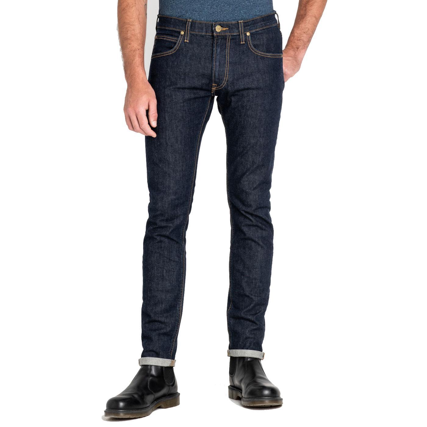 Luke LEE Slim Tapered Retro Mod Denim Jeans RINSE