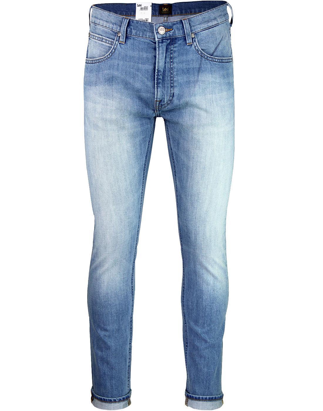 Luke LEE Slim Tapered Retro Denim Jeans KICK IT