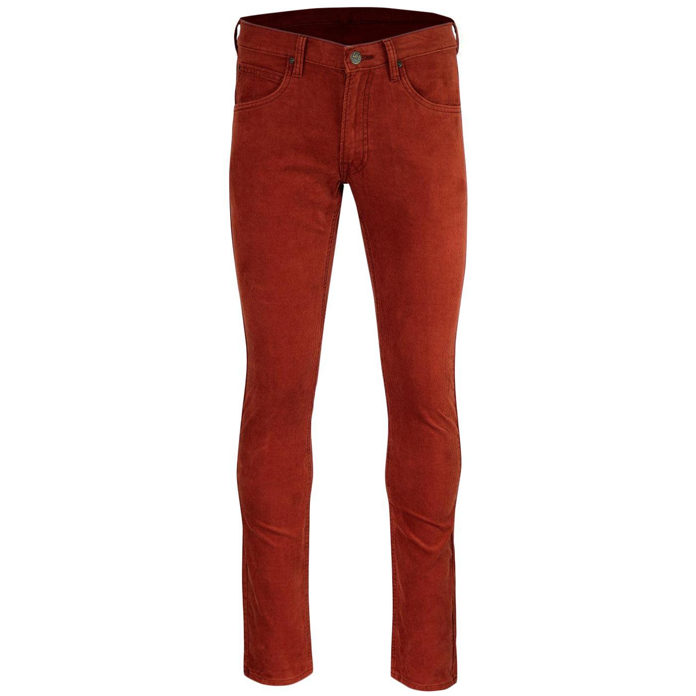 Luke LEE Retro Mod Slim Tapered Cord Jeans PICANTE