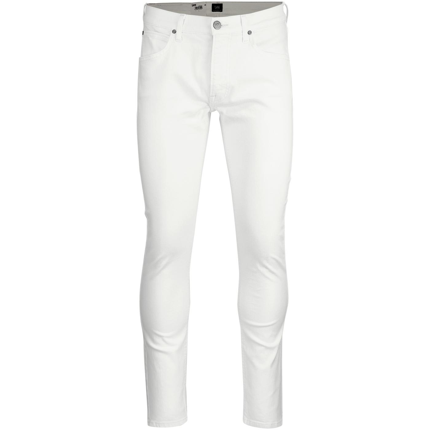 Luke LEE Slim Tapered Mod Denim Jeans (Off White)