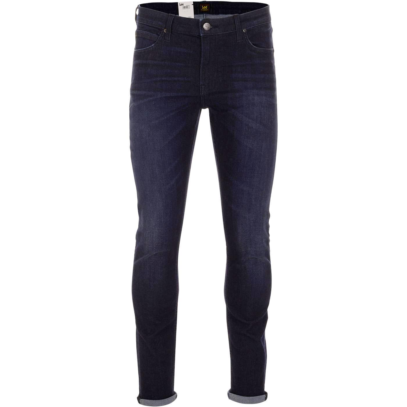 Malone LEE JEANS Retro Skinny Jeans (Pine Blue)