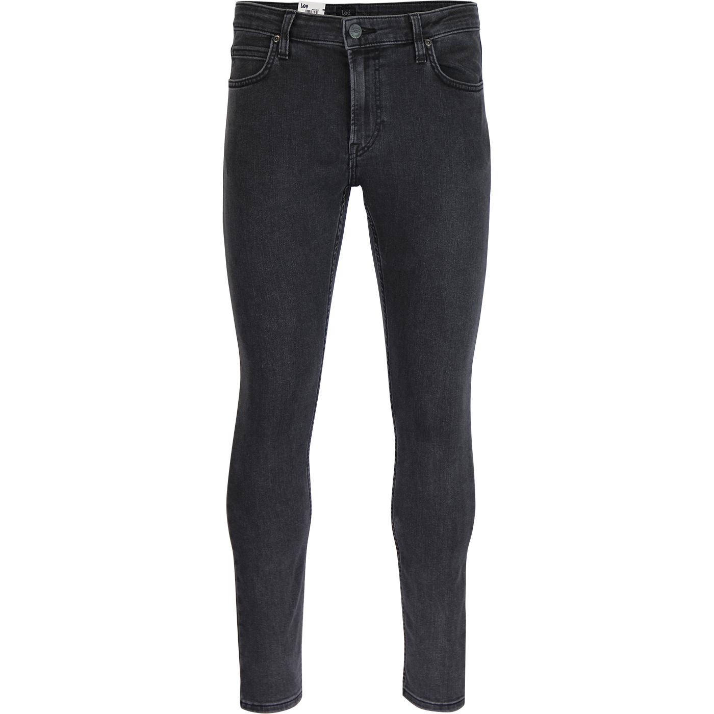 Malone LEE Retro Skinny Denim Jeans CONCRETE GREY