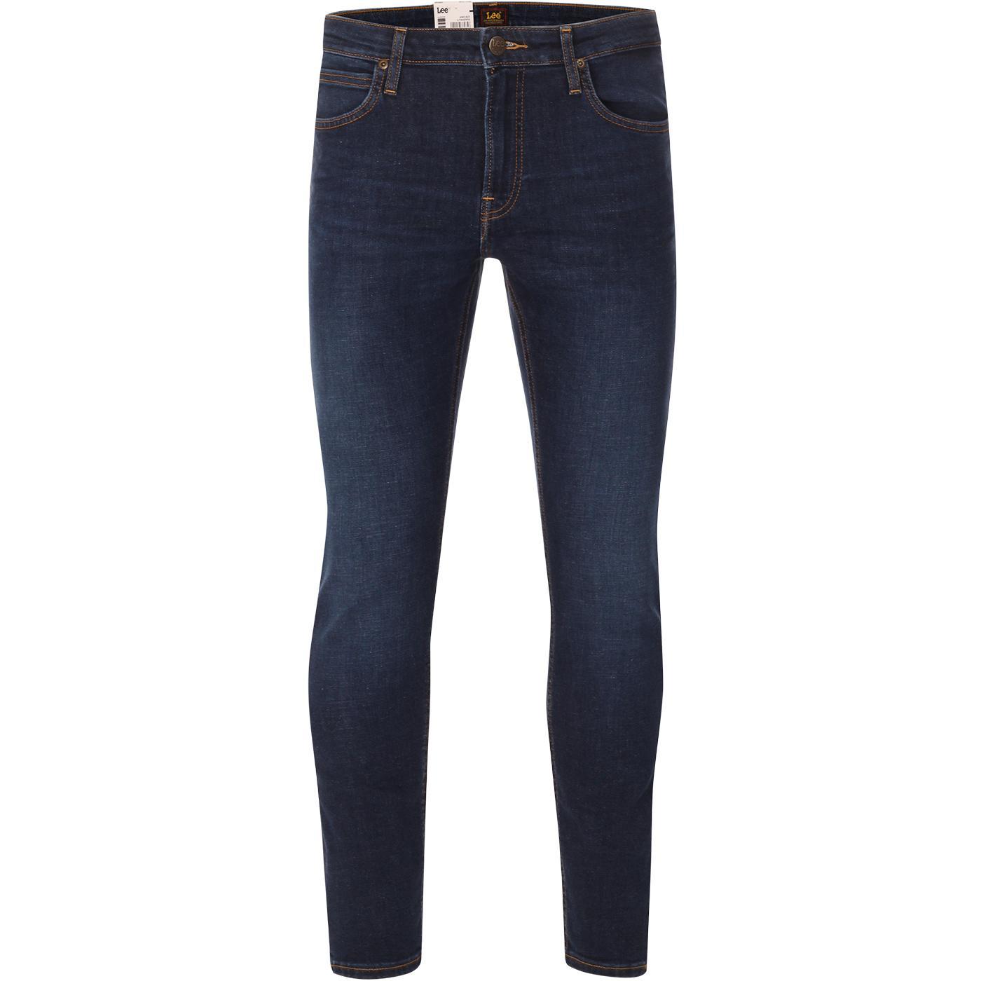 Malone LEE JEANS Mod Indigo Skinny Drainpipe Jeans