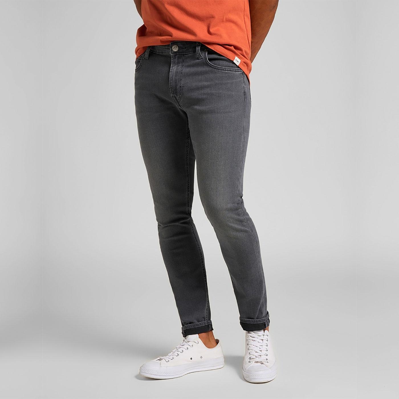 Malone LEE Men's Retro Skinny Jeans (Mid Eden)