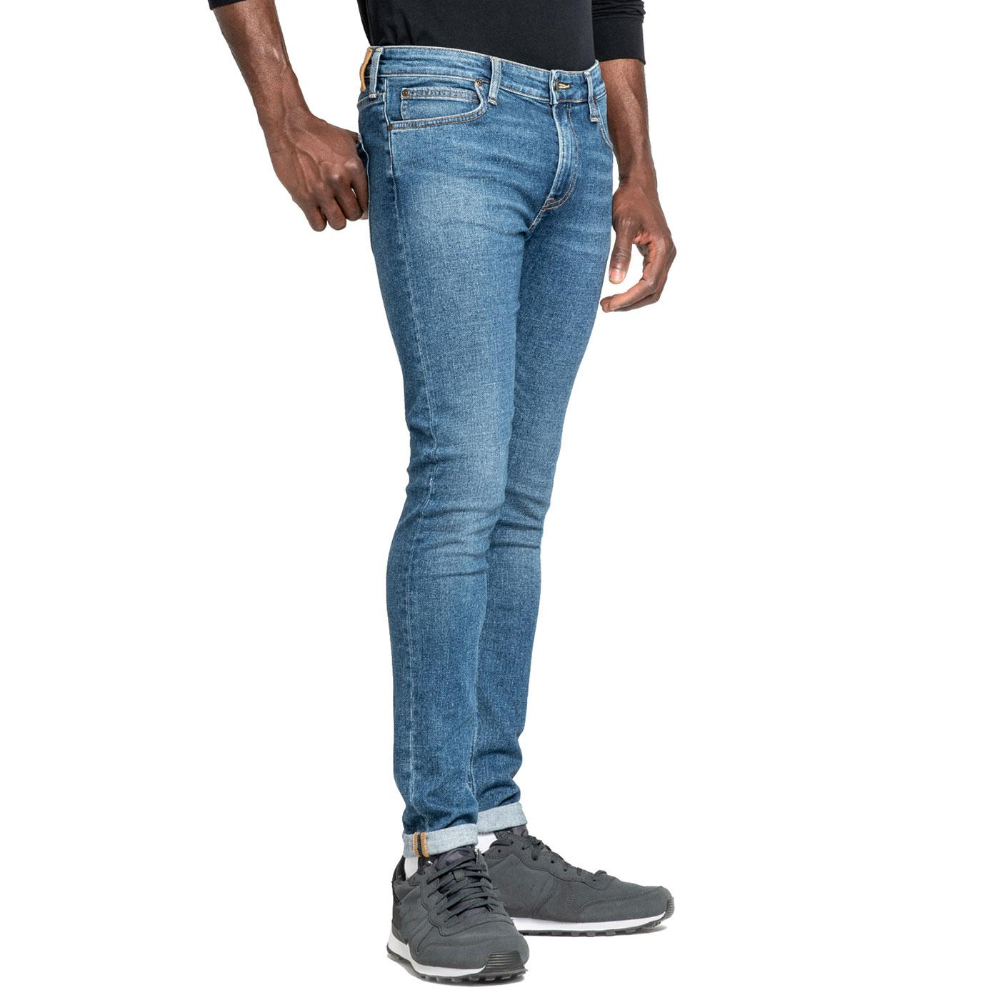 Malone LEE JEANS Stonewash Skinny Jeans EASY BLUE