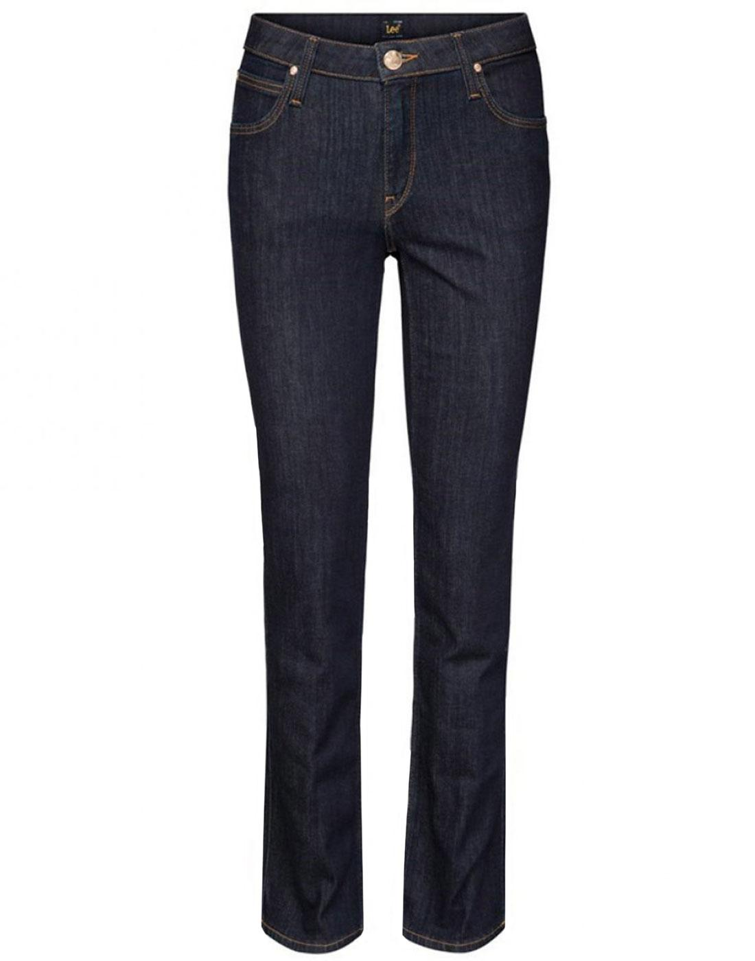 Marion LEE Stretch Deluxe Retro Straight Jeans SB