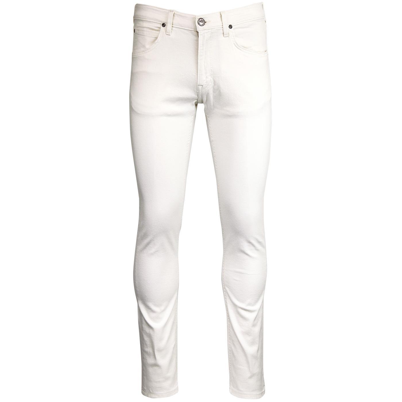 Luke LEE Slim Tapered Retro Mod Denim Jeans White