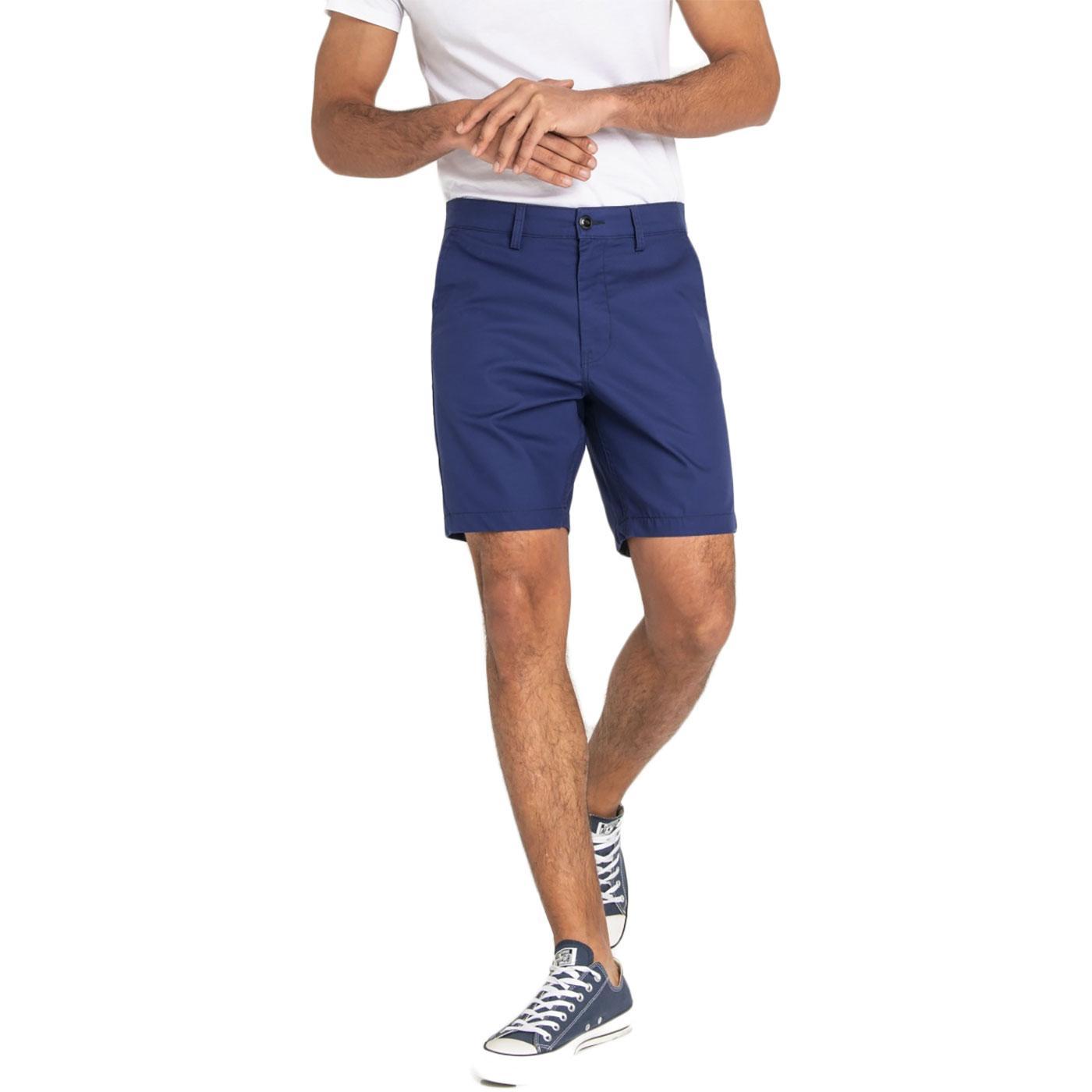LEE Men's Retro Slim Chino Shorts (French Navy)