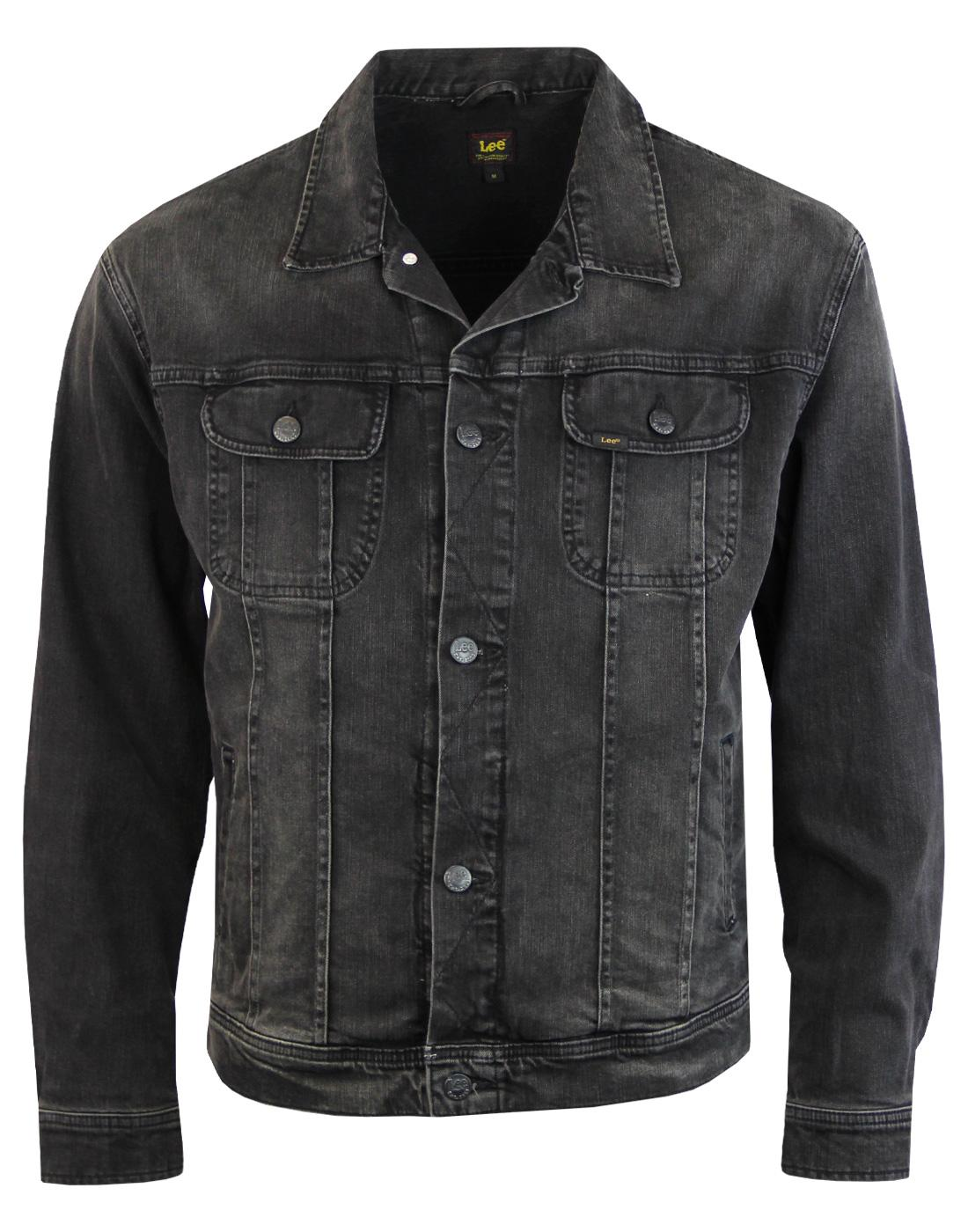 LEE Oversized Rider Retro Punk Deluxe Denim Jacket